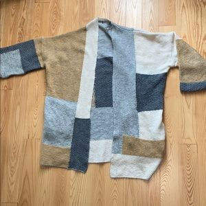 TopShop color block sweater